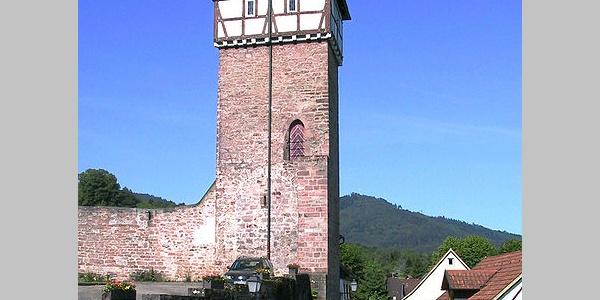 Der Storchenturm in Gernsbach