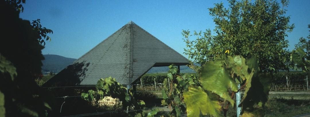 Die Mandelgartenhütte.