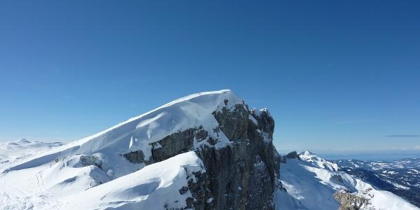 Gipfel des Toreck im Winter