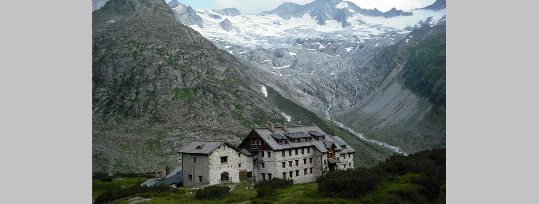 Die Berliner Hütte - eigentlich ein ganzer Weiler