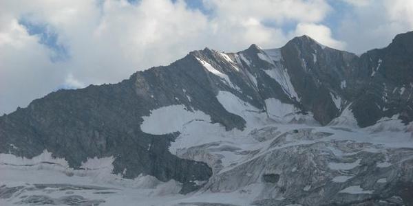 Blick vom Furtschaglhaus auf die Hochfeiler-Nordwand