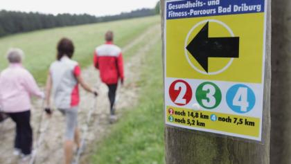 Nordic Walking auf dem Gesundheits- und Fitness-Parcours Bad Driburg 4