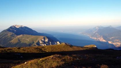 Mt. Altissimo 2079m, Blick zu Cima Valdritta