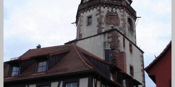 Der Niggelturm (19) beherbergt heute ein Narrenmuseum