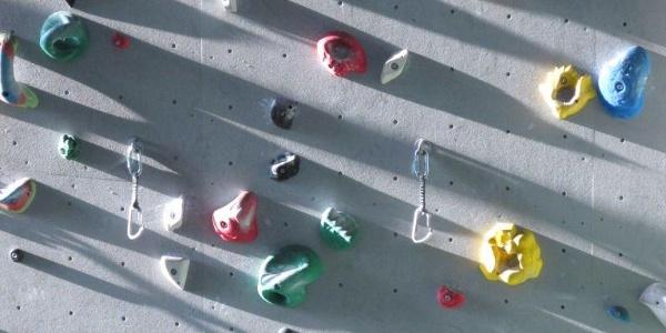 DAV Kletterzentrum Berlin: Stilleben in der Abendsonne