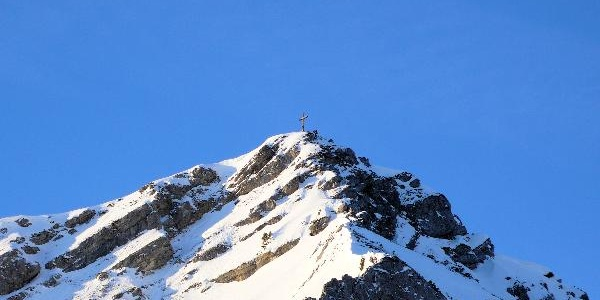 Der Gipfel der Scheinbergspitze.