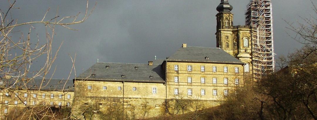 Die beeindruckende Klosteranlage in Banz ist unser Ziel.
