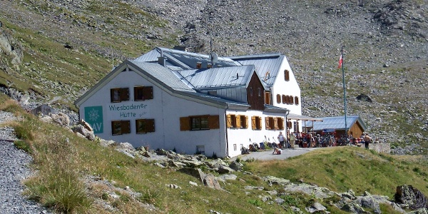 Wiesbadener Hütte.