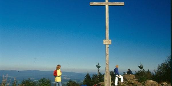 Vom Pröller-Gipfel haben wir bei guter Sicht einen phantastischen Ausblick.