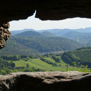 Ausblick vom Lindelbrunn