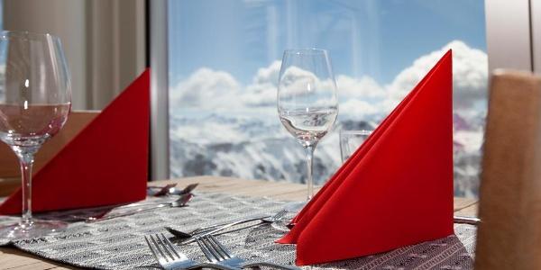 Panoramarestaurant Rothorngipfel Winter