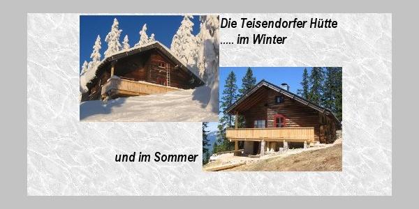 Die Teisendorfer Hütte auf dem Predigtstuhl