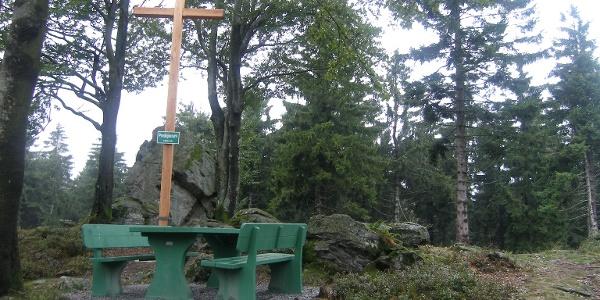 Der Predigtstuhl ist unser erste Anstieg des Tages.