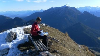 Gipfelblick zum Dobratsch