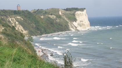 Der Blick auf das Kap Arkona.