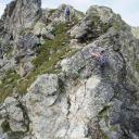 Das Gipfelkreuz in Sichtweite