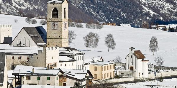 UNESCO Welterbe Kloster St. Johann in Müstair