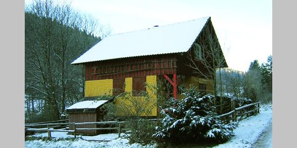 Die Weiherhütte.