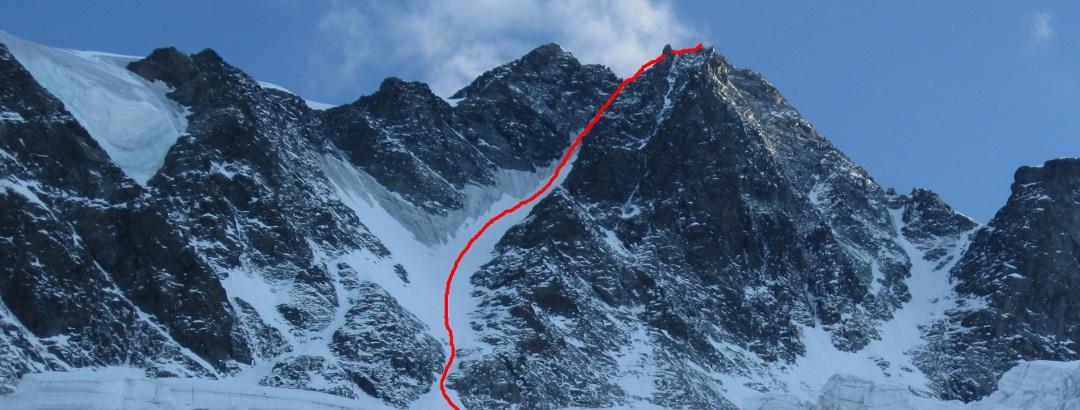 Großglockner Nordwand - Route Pallavicinirinne