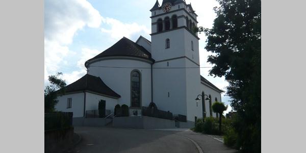 Die Wallfahrtskirche St. Sylvester.