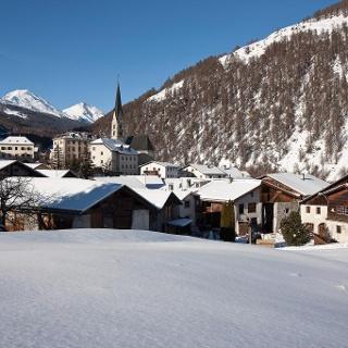 Das Dorf Sta. Maria