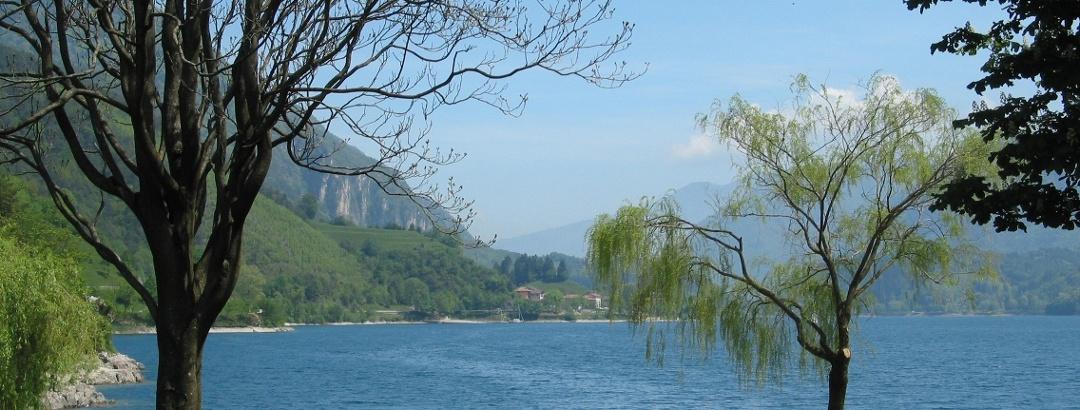 Traumhafter Blick auf den lago di Ledro.
