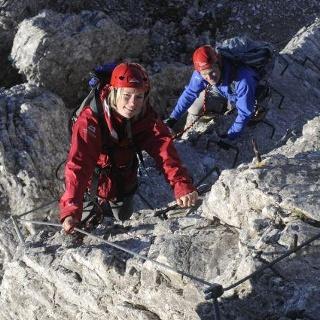 Klettersteig Stubaital