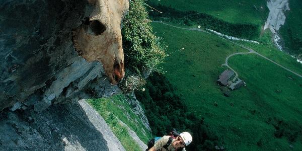 Im Fürenwand-Klettersteig