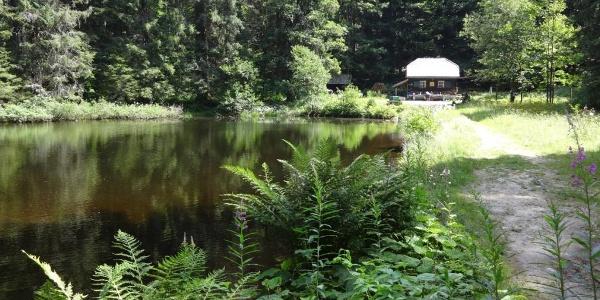 Schwellhäusl am Höllbach