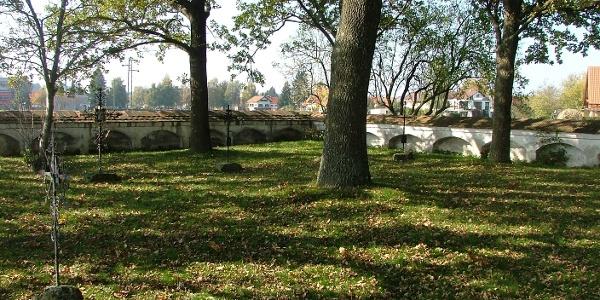 Der Pestfriedhof in Legau Lehenbühl.