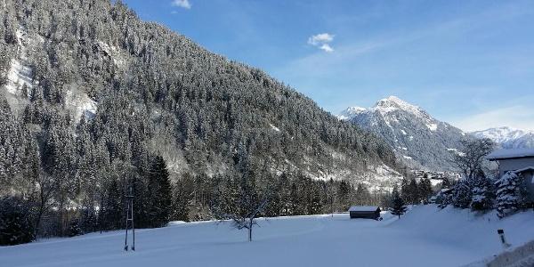 Ringloipe Galgenul - im Hintergrund der Grappeskopf (2.206 m)