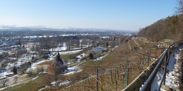 Blick auf Pillnitz