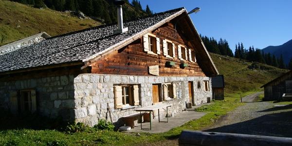 Die obere Spora Alpe (1.753 m) in der nähe der Lindauer Hütte