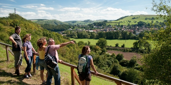 Blick nach Staudernheim