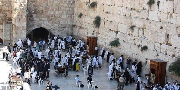 Die Klagemauer als religiöse Stätte