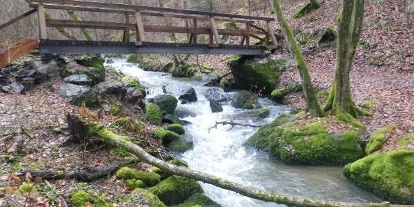 Steg über den Hinterbach