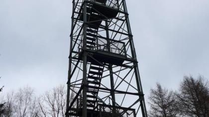 Der Pfannenbergturm bietet eine tolle Aussicht