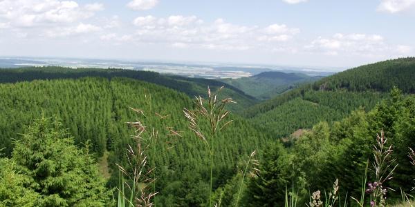 Ausblick Hütte