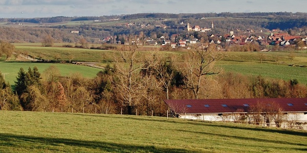 Blick nach Krichberg