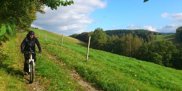 Unterwegs bei Schwarzenberg