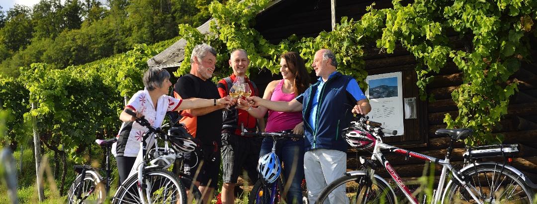 Radfahren in Kraichgau-Stromberg mit Pausen