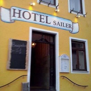 Hotel Sailer Frontansicht