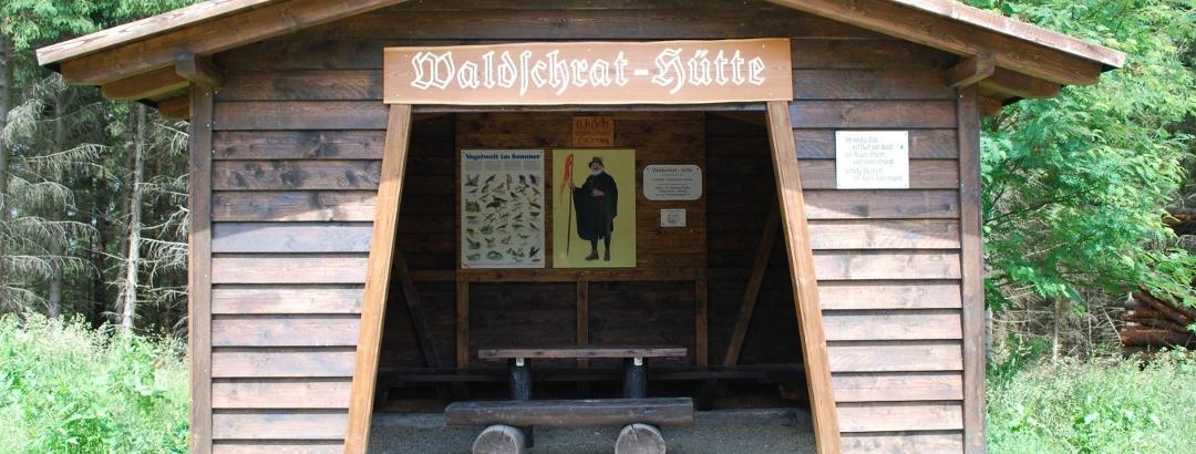 Wadlschrat-Hütte am Sidecum
