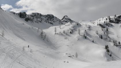 Muldengelände zwischen Gipfel und Seekarsee