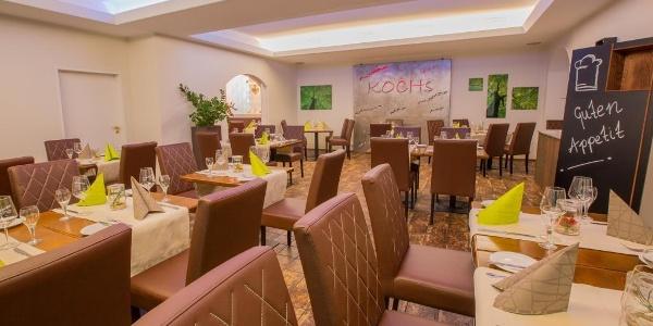 Gastraum in Koch's Restaurant