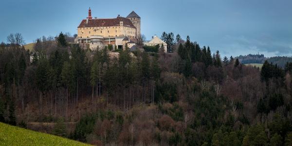 Blick auf Schloss Krumbach