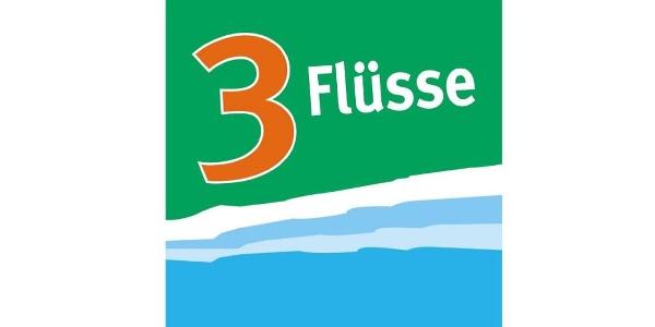 Routenlogo der 3-Flüsse-Route
