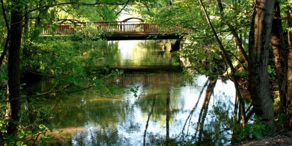 Brücke am Piestingtal-Radweg