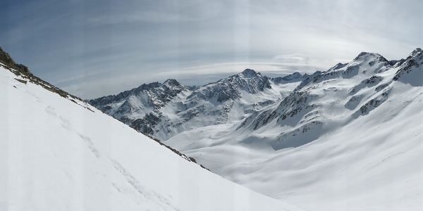 Panorama im Roßkar