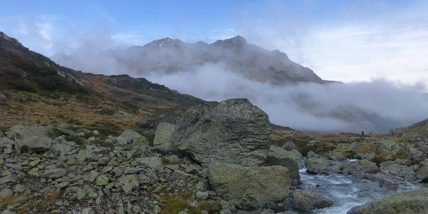 Abstieg zur Konstanzer Hütte